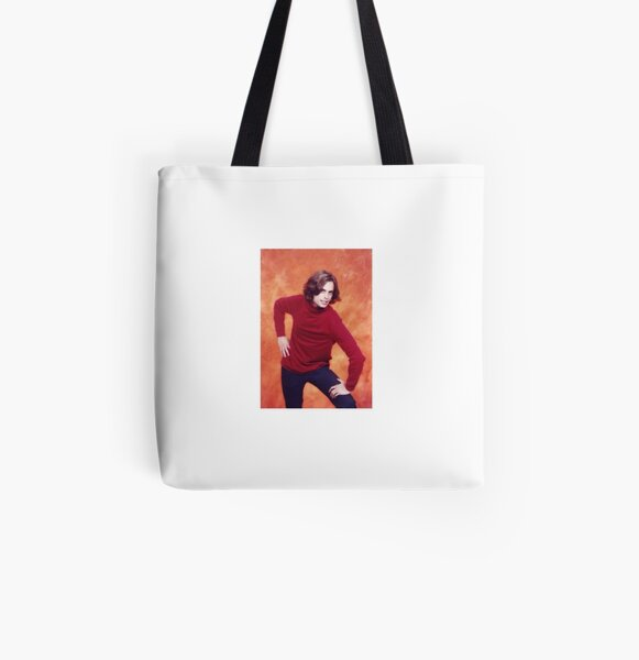 matthew gray gubler red shirt pose All Over Print Tote Bag