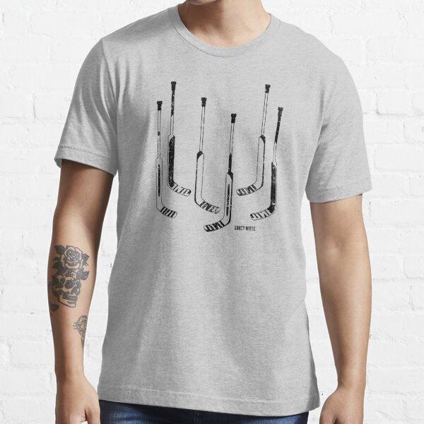 Goalie Hockey Sticks Black Essential T-Shirt
