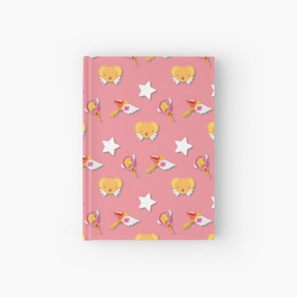Card Captor Sakura Pattern Hardcover Journal