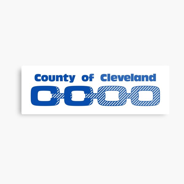 NDVH Cleveland County Metal Print