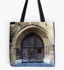 Neuchatel Castle Gate. Switzerland Tote Bag