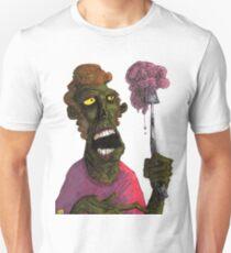 Brain on a fork Unisex T-Shirt