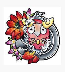 Darumaka - Pokemon tattoo art Photographic Print