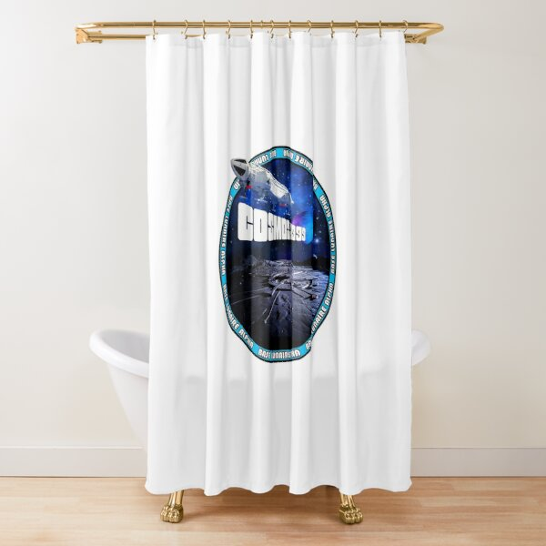 SPACE: 1999 GENERIC 14B Shower Curtain