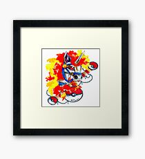Rapidash - Pokemon Tattoo Inspiration Framed Print