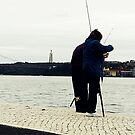 Occasional couple of fishers by RatherPedanticInc Gonçalo Julião