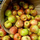 Basket Of Apples by WildestArt