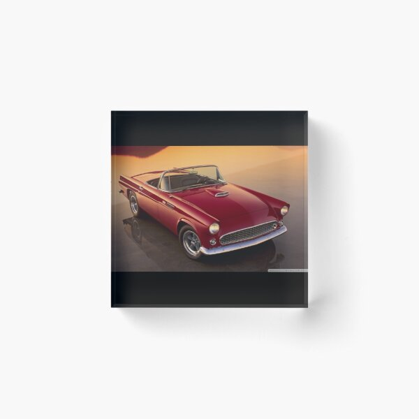 Ford thunderbird Acrylic Block