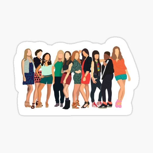 Pitch Perfect 2 Cast! Sticker