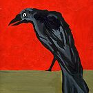 My Poe's Raven by Anne Gitto