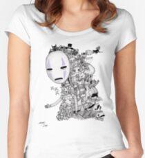 Hayao Miyazaki Tribute #2 Women's Fitted Scoop T-Shirt