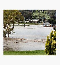 Condamine in Flood Photographic Print