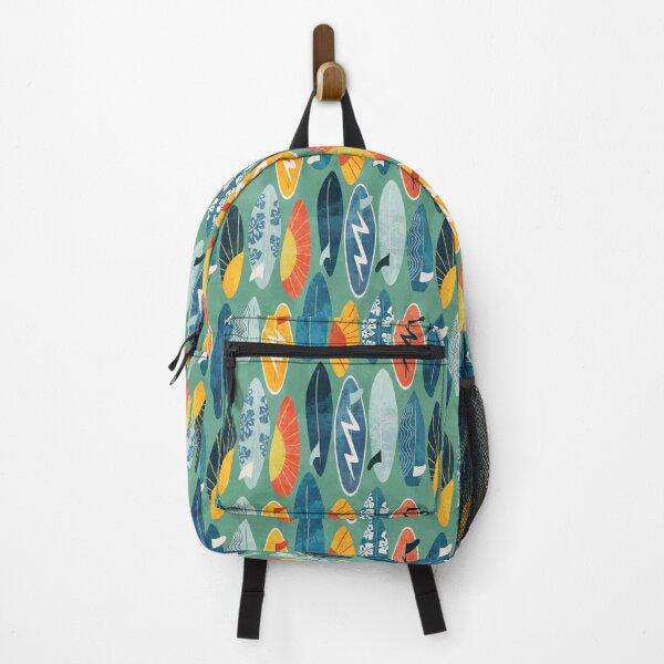 Surfboard green Backpack