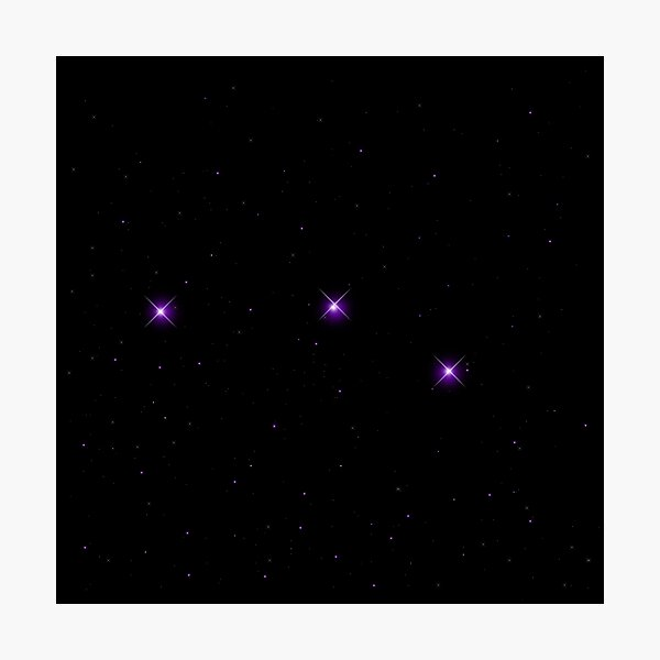 Orion's belt Photographic Print