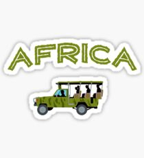 African Safari Sticker
