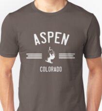 Ski Aspen Colorado Unisex T-Shirt