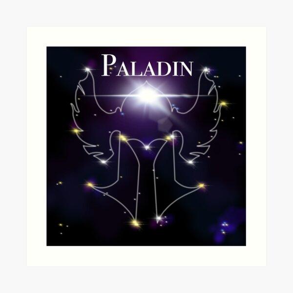 Paladin Constellation Art Print