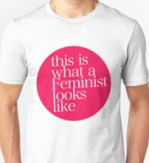 this is what a Feminist looks like RED T-Shirt