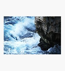 The fight of natural elements Photographic Print