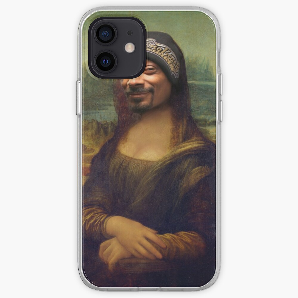Snoop Dogg Mona Lisa   iPhone Case & Cover