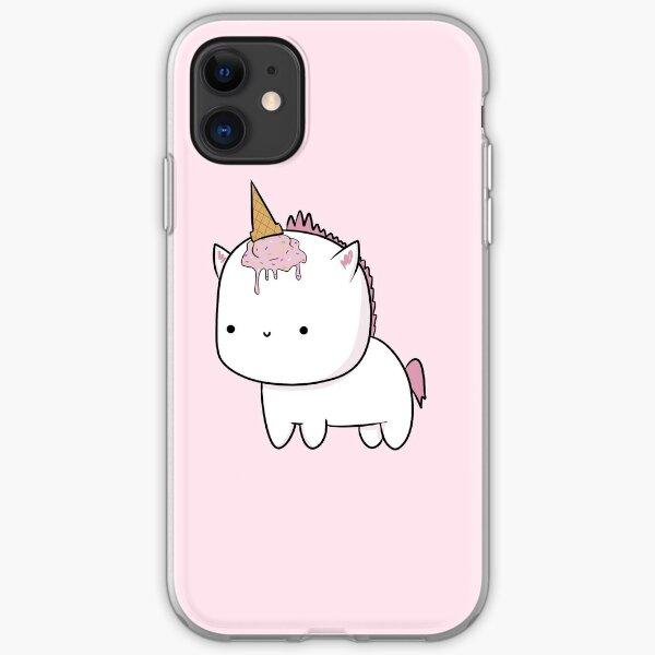 "Pink ""Unicorn"" iPhone Soft Case"