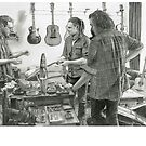 Clingan Guitar Tone - Pencil Sketch - Alford by alford