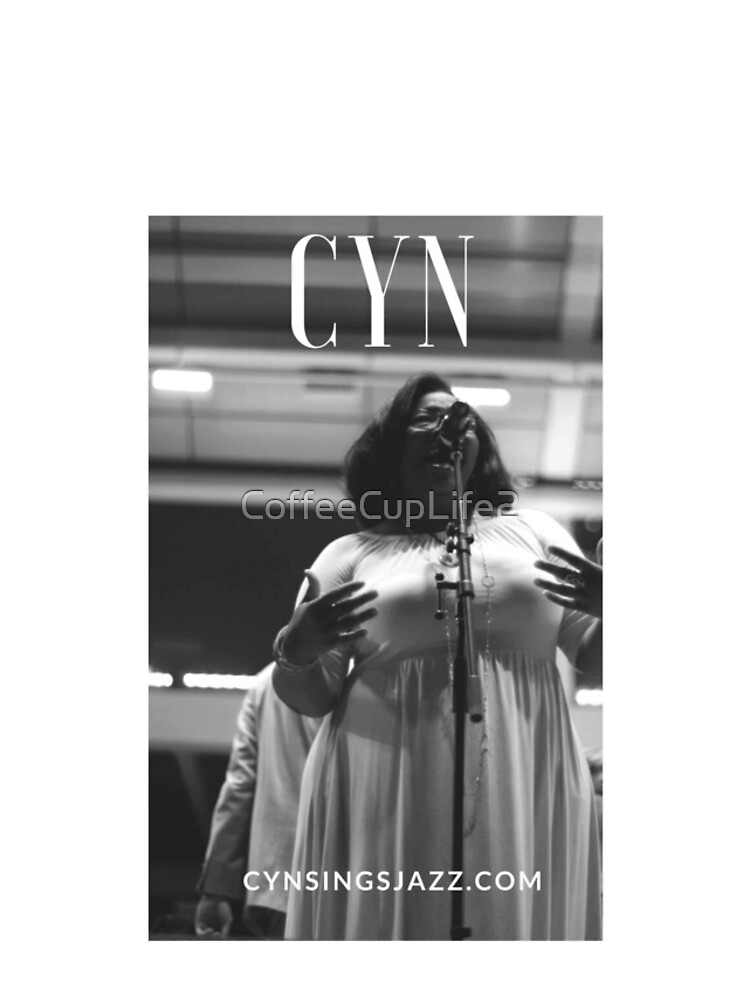Cyn Sings Jazz: Black and White by CoffeeCupLife2
