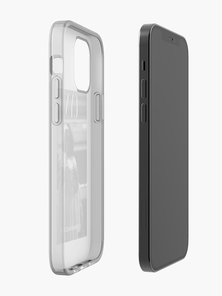 Alternate view of Cyn Sings Jazz: Black and White iPhone Case & Cover
