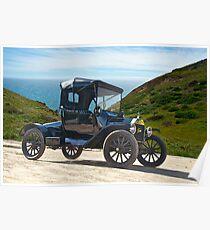 1915 Ford Model T Roadster Poster