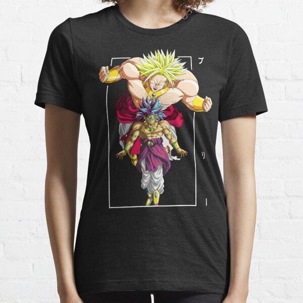 Conception DBZ classique Broly T-shirt essentiel
