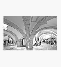 tower arches. Photographic Print