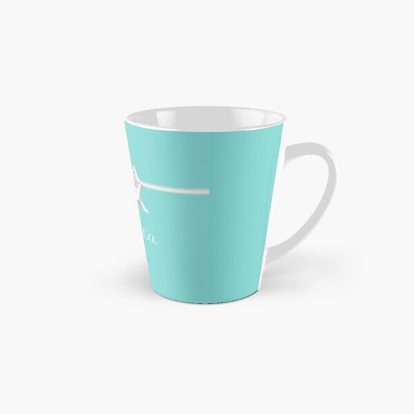 Tiffany Blue Bow Tall Mug
