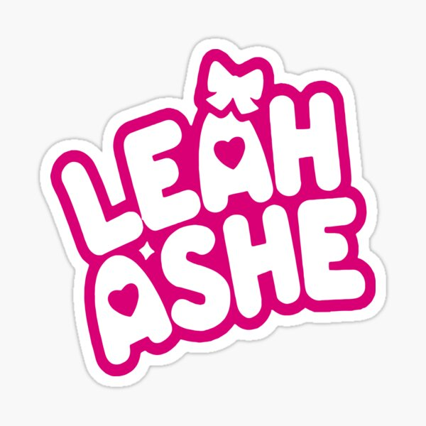 Leah Ashe Merch Classic  Sticker