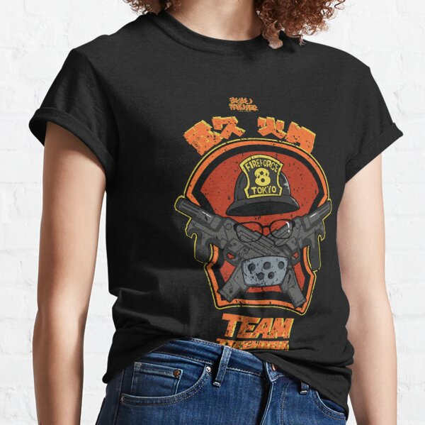 FIRE FORCE: TEAM TAKEHISA (GRUNGE STYLE) Classic T-Shirt
