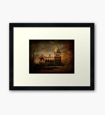 Evening at Forstmann Castle Framed Print