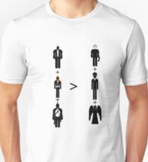 Doctor Who Maths - Season 6, Amy and Rory Unisex T-Shirt
