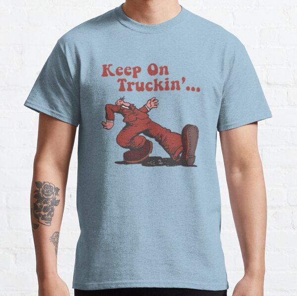 Keep on Truckin Vintage Retro Classic T-Shirt