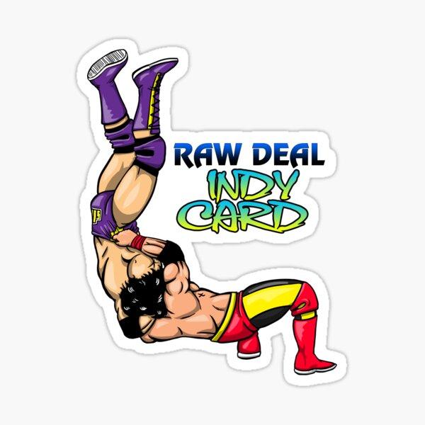 Raw Deal Indy Card Brain Buster Sticker