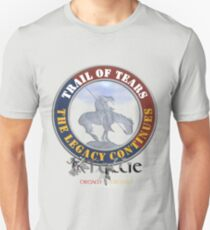 Tollie's Trail of Tears the Legacy Continues Unisex T-Shirt