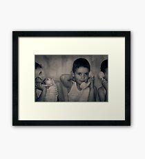 The Good Listener Framed Print