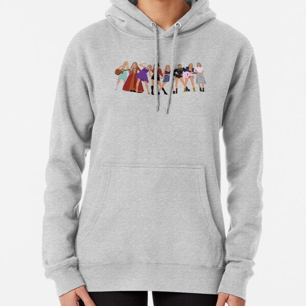 Taylor Swift Eras with Folklore Pullover Hoodie