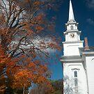 Church in Fall by Sam Davis