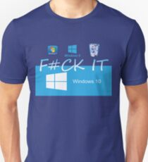 Windows 10 Funny Unisex T-Shirt