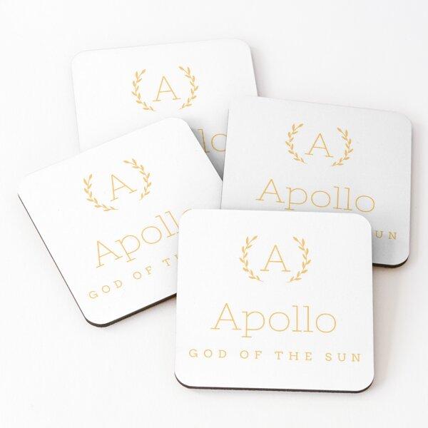 Apollo god of the sun Coasters (Set of 4)
