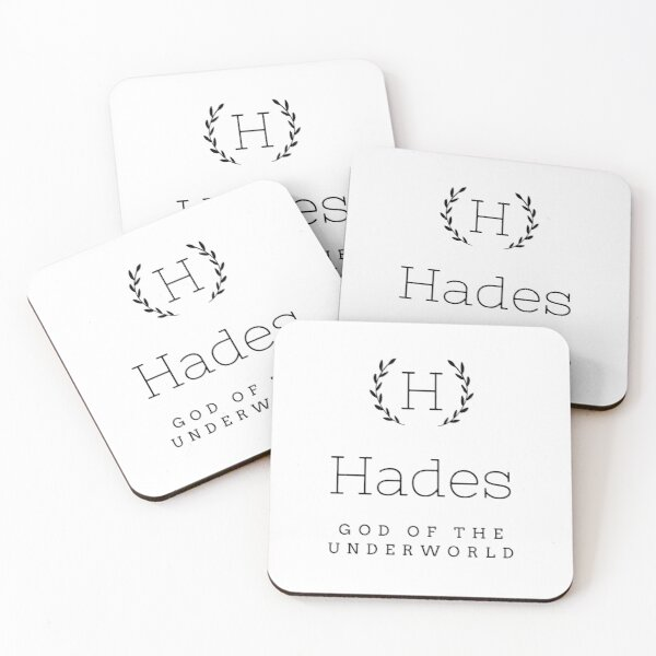 Hades god of the dead Coasters (Set of 4)