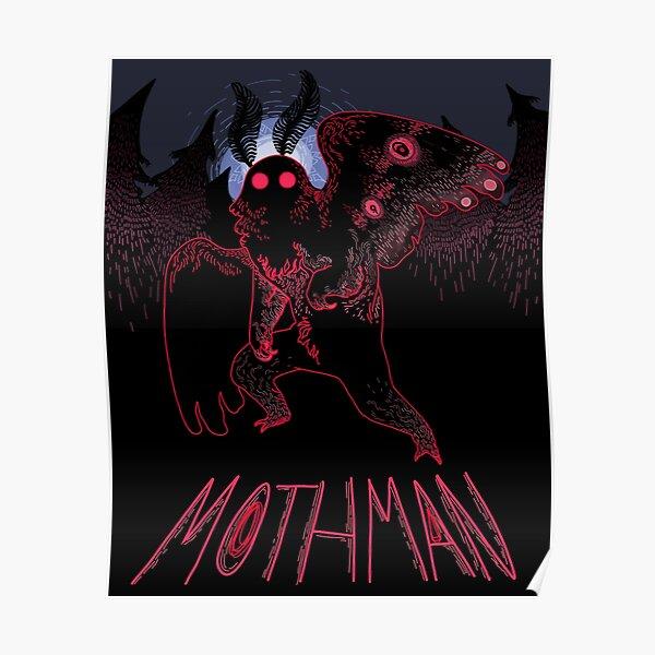 Mothman poster design! Poster