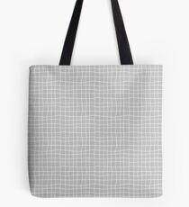 Carreaux - Grey - Bis Tote Bag