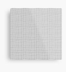 Carreaux - Grey - Bis Metal Print