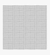 Carreaux - Grey - Bis Photographic Print