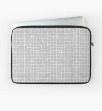 Carreaux - Grey - Bis Laptop Sleeve